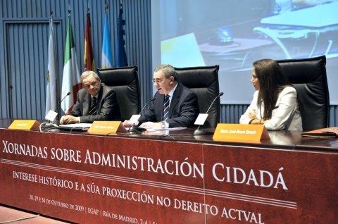 Imaxes día 29 - Xornadas sobre a administración cidada: Interese histórico e a súa proxección no dereito actual